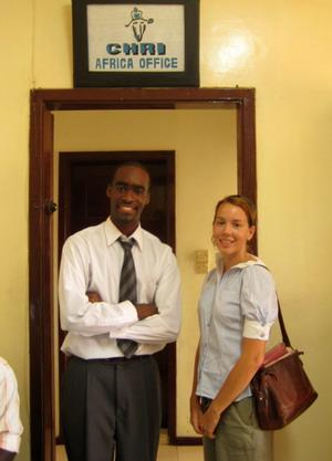 Human Rights office in Ghana