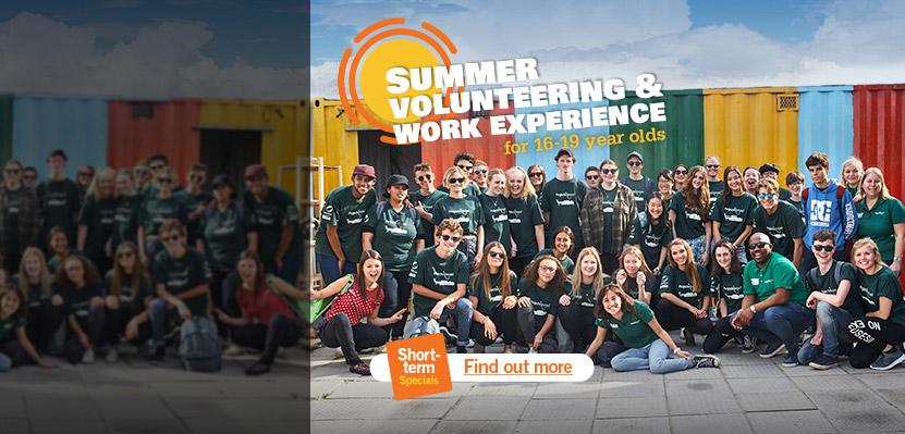 Short-term Voluntary Work-Experience Placements for 16-19 year-olds
