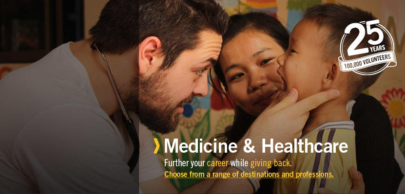 Medicine and Healthcare Volunteering Overseas