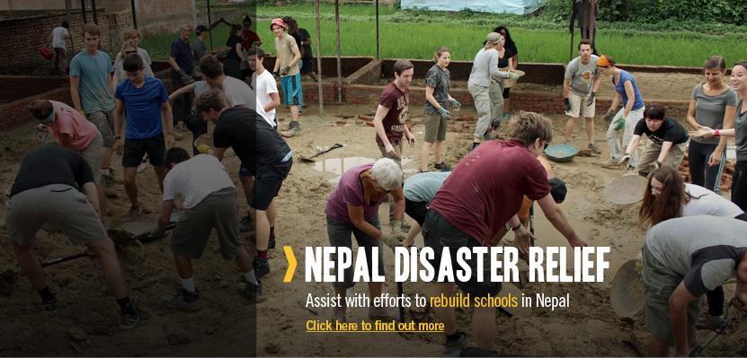Nepal Disaster Relief Volunteering Abroad