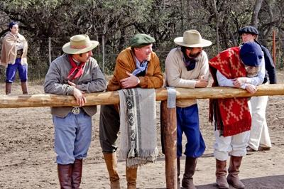 Argentinian men at a rodeo in Cordoba