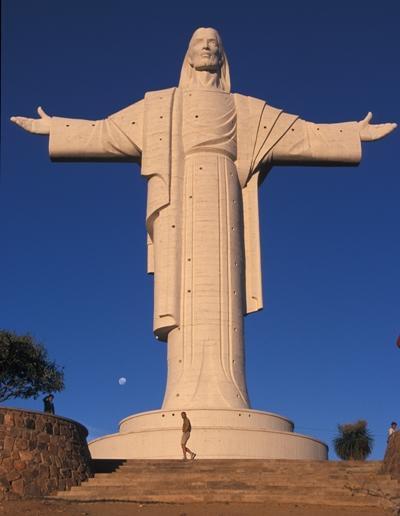 Cristo de la Concordia, in Bolivia