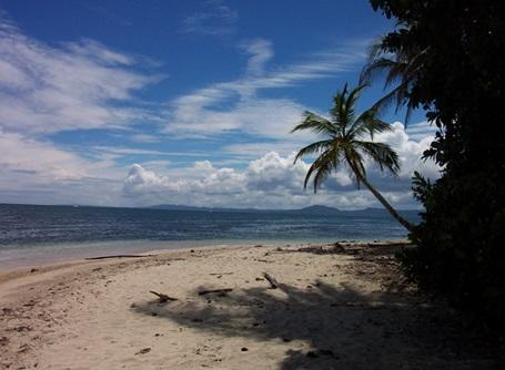 One of the many beaches in Costa Rica