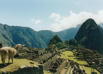 Machu Picchu is Peru's most visisted site