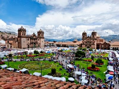 One of the well-known markets in Peru