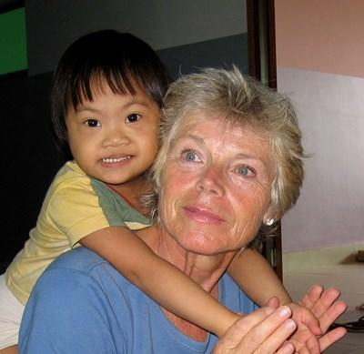Voluntary work as an occupational therapist in Cambodia