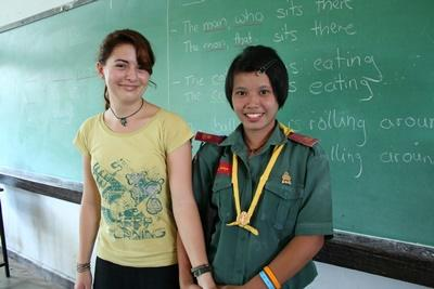 Voluntary work as a teacher in Thailand