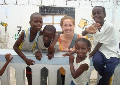 Building & French in Senegal