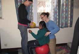 A High School Special volunteer gains valuable medical experience shadowing local staff in the physiotherapy department of a hospital in Nepal.