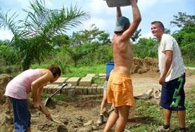 Building projects overseas